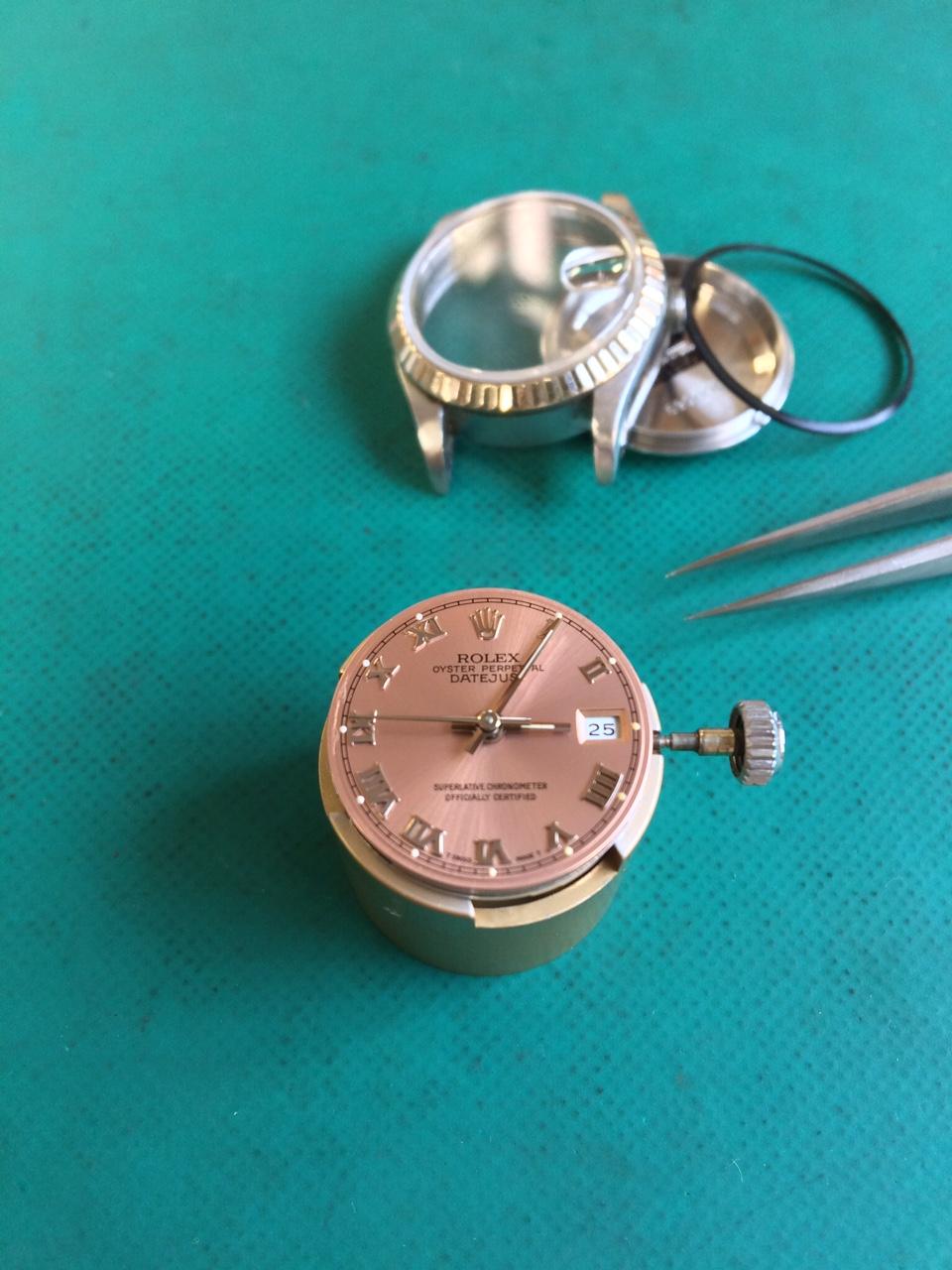 ドロ〜ンとハサミは使い様。静岡県藤枝市 時計 修理 ROLEX