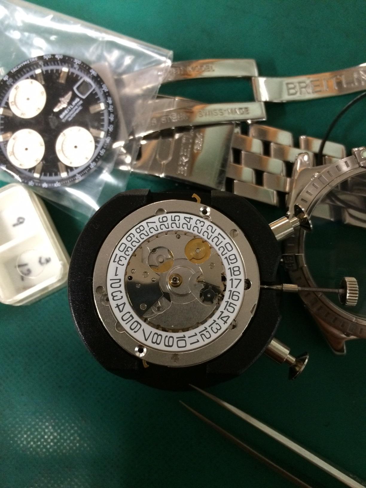 ETAパーツ供給ストップ。。。静岡県藤枝市 時計 修理 ROLEX