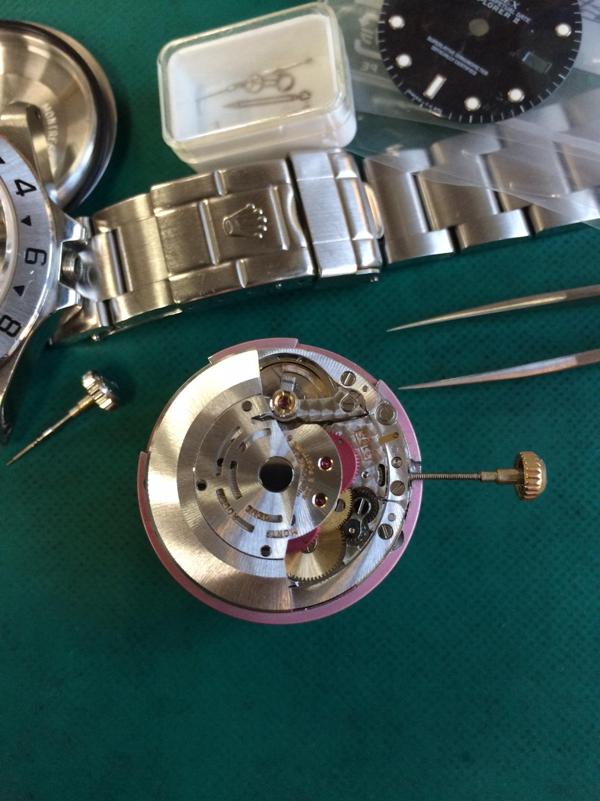 Cal.3135 静岡県藤枝市 時計 修理 ROLEX